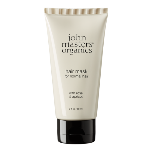 John Masters Organics Hair Mask For Normal Hair With Rose and Apricot - Travel Size, 38ml/2 fl oz
