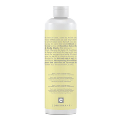 Consonant Healthy Baby Hair and Body Wash, 250ml/8.5 fl oz