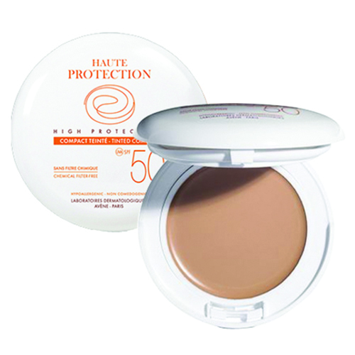 Avene High Protection Tinted Compact SPF 50 - Beige, 10g/0.35 oz