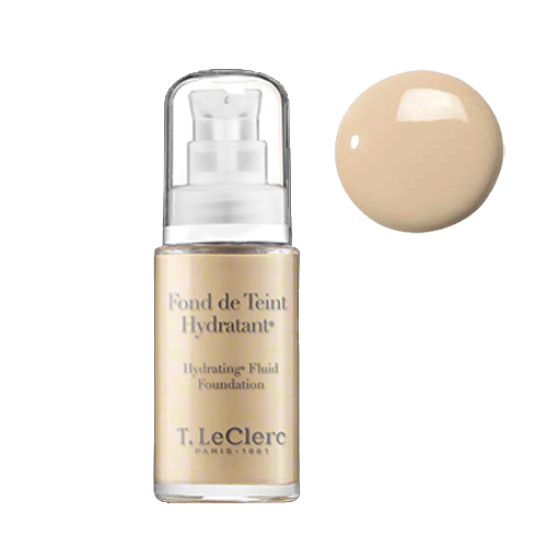 T LeClerc Hydrating Fluid Foundation 02 - Clair Rose, 30ml/1 fl oz