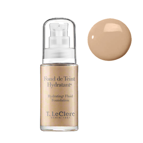 T LeClerc Hydrating Fluid Foundation 04 - Beige Abricot, 30ml/1 fl oz