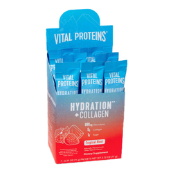 Hydration + Collagen Tropical Blast Stick Pack Box