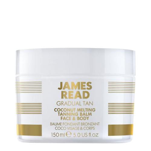 James Read GRADUAL TAN Coconut Melting Tanning Balm Face and Body, 150ml/5.1 fl oz