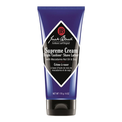 Jack Black Supreme Cream Triple Cushion Shave Lather - Travel Size, 88ml/3 fl oz