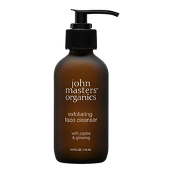 Jojoba and Ginseng Exfoliating Face Cleanser