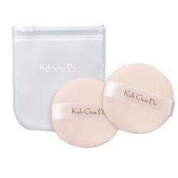 Koh Gen Do Face Powder Puffs With Case, 2 pieces