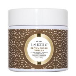 LaLicious Sugar Scrub - Brown Sugar Vanilla, 453g/16 oz