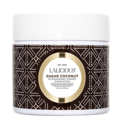 LaLicious Sugar Scrub - Sugar Coconut, 453g/16 oz