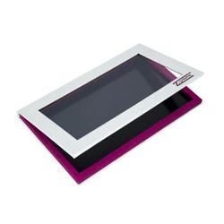 Z Palette Large Palette - White Hot Pink Glitter, 1 piece