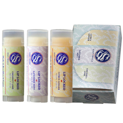 Lip Locked Lip Balm Trio Gift Set
