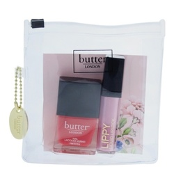 butter LONDON Lips and Tips Collection - Pink Pops, 1 set