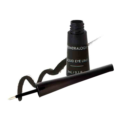 Mineralogie Liquid Eye Liner - Black, 3ml/0.1 fl oz