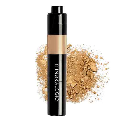 Mineralogie Loose Mineral Foundation Dispensing Brush - Dune, 7g/0.2 oz