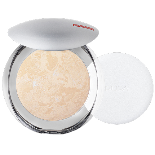 Pupa Luminys Compact Face Powder Ivory Beige - 01, 1 piece
