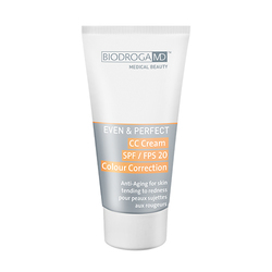 MD Even and Perfect CC Cream LSF 20 Color Correction - For Skin tending to Redness