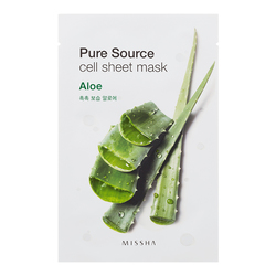 Pure Source Cell Sheet Mask - Aloe