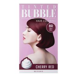 Tinted Bubble Hair Coloring - Cherry Red