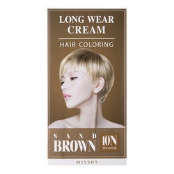 Long-Wear Cream Hair Coloring - Black