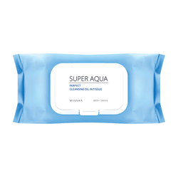 Super Aqua Perfect Cleansing Oil In Tissue - Large Volume