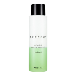 MISSHA Perfect Lip and Eye Make-Up Remover (Moisture), 155ml/5.2 fl oz