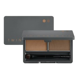 MISSHA Twin Brow Kit - No.1 | Natural Brown, 20g/0.7 oz