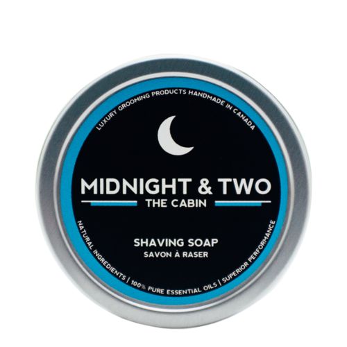 Midnight and Two Shaving Soap - The Cabin, 113g/4 oz