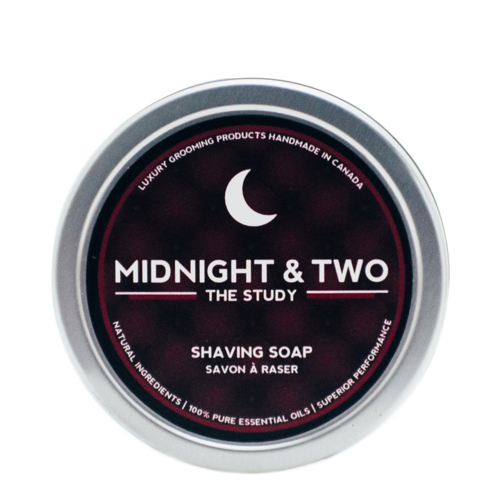 Midnight and Two Shaving Soap - The Study, 113g/4 oz