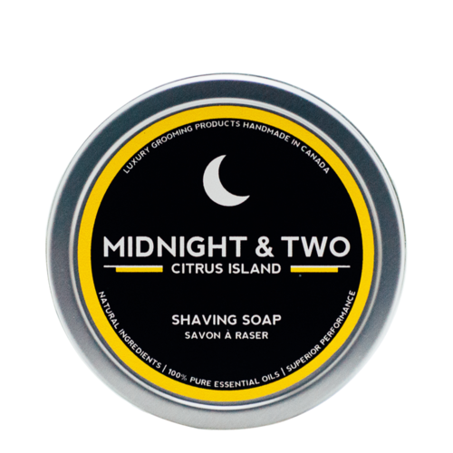 Midnight and Two Shaving Soap - Citrus Island, 113g/4 oz