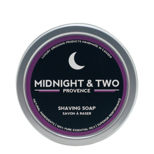Midnight and Two Shaving Soap - Provence, 113g/4 oz