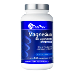 CanPrev Magnesium Bis-Glycinate 140 Extra Gentle, 240 capsules