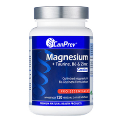 Magnesium + Taurine, B6 and Zinc for Cardio