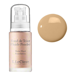 T LeClerc Matte Fluid Foundation 03 - Beige Sable Mat, 30ml/1 fl oz