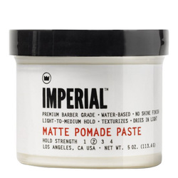 Imperial Barber Products Matte Pomade Paste, 113.4g/5 oz