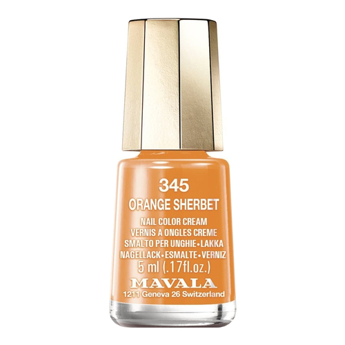 Mavala Nail Color Cream - 345 Orange Sherbet, 5ml/0.2 fl oz