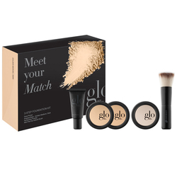Glo Skin Beauty Meet Your Match Foundation Kit - Golden, 1 sets