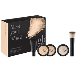 Glo Skin Beauty Meet Your Match Foundation Kit - Natural, 1 set