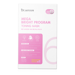 Mega Bright Program Toning Mask (25ml x 5 sheets)