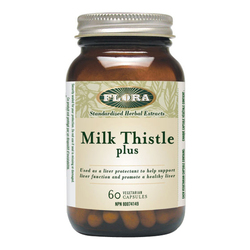 Flora Milk Thistle Plus, 60 capsules