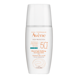 Avene Mineral Light Mattifying Sunscreen Lotion SPF 50+, 50ml/1.7 fl oz