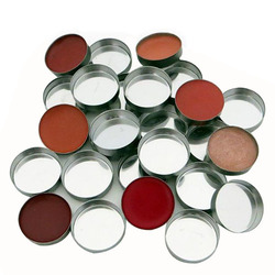 Z Palette Mini Round Metal Pans, 20 pieces