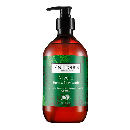 Antipodes  Nirvana Hand and Body Wash - Spearmint and Cardamon, 500ml/17 fl oz