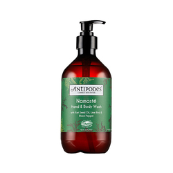 Antipodes  Namaste Hand and Body Wash - Lime and Black Pepper, 500ml/16.9 fl oz