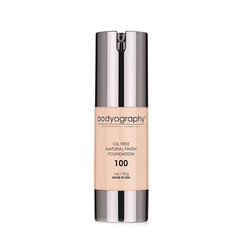 Natural Finish Foundation - #100 Light (Neutral Undertone)