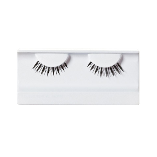 Naturally Full False Eyelashes - Black, 1 piece