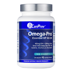 CanPrev Omega-Pro Essential HP 40 over 20  90 Softgels, 1 piece