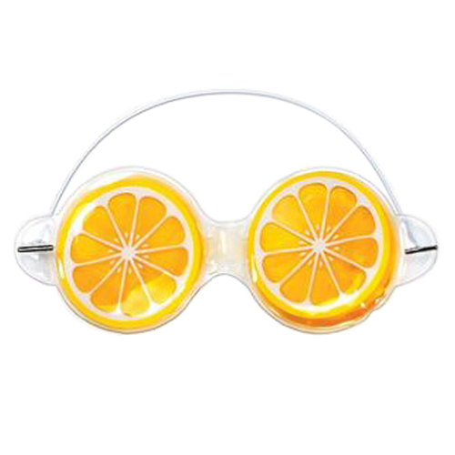 Orange Gel Eye Mask, 1 piece
