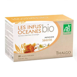 Organic Infus' Oceanes Serenity Tea (Calming and De-Stressing) | 20 Packs
