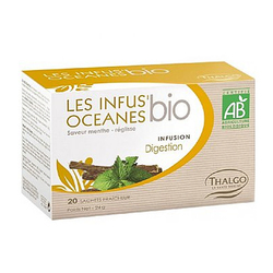 Organic Infus' Oceanes Digestion Tea (Reduces Bloating snd Helps Digestion) | 20 Sachets