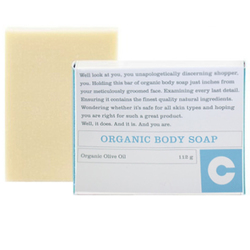 Consonant Organic Olive Oil Body Soap, 112g/4 oz
