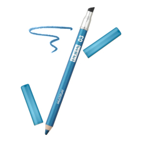 Pupa Multiplay 3 in 1 Eye Pencil - 03 Sky Blue, 1 piece